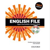 "Посібник ""English File 3rd Edition Upper-Intermediate: Student's Book with iTutor DVD (підр.+диск)"" - фото обкладинки книги"
