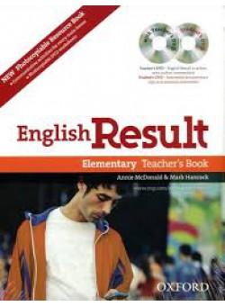 "Посібник ""English Result Elementary: Teacher's Book with DVD and Photocopiable Materials Book"" - фото книги"
