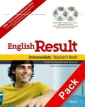 """Посібник """"English Result Intermediate: Teacher's Book with DVD and Photocopiable Materials Book"""" - фото обкладинки книги"""