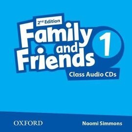 "Посібник ""Family and Friends 2nd Edition 1: Class Audio CDs (2) (аудіодиск)"" Jenny Quintana - фото книги"