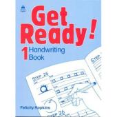 "Посібник ""Get Ready! 1: Handwriting Book (прописи)"" Felicity Hopkins - фото обкладинки книги"
