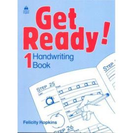 "Посібник ""Get Ready! 1: Handwriting Book (прописи)"" Felicity Hopkins - фото книги"
