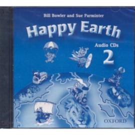 """Посібник """"Happy Earth 2: Class Audio CDs (аудіодиск)"""" Bill Bowler - фото книги"""