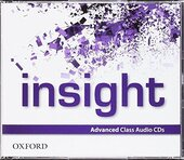 """Посібник """"Insight Advanced: Class Audio CDs (аудіодиск)"""" Jayne Wildman - фото обкладинки книги"""