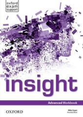 """Посібник """"Insight Advanced: Workbook (робочий зошит)"""" Jayne Wildman - фото обкладинки книги"""