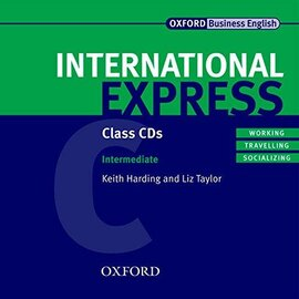 "Посібник ""International Express Interactive Edition Intermediate: Class Audio CDs (аудіодиск)"" - фото книги"