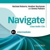 """Посібник""""Navigate Intermediate B1+: Class Audio CDs (аудіодиск)"""" - фото обкладинки книги"""