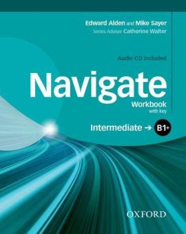 "Посібник""Navigate Intermediate B1+: Workbook with Key with Audio CD (робочий зошит)"" - фото книги"