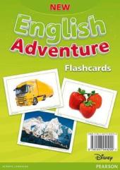 "Посібник ""New English Adventure 1 Flashcards (картки)"" - фото обкладинки книги"