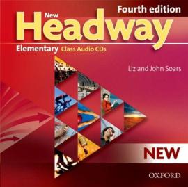 """Посібник """"New Headway 4th Edition Elementary: Class Audio CDs (аудіодиск)"""" - фото книги"""
