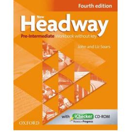"Посібник""New Headway 4th Edition Pre-Intermediate:Workbook without Key with iChecker(робочий зошит)"" - фото книги"