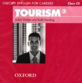 "Посібник ""Oxford English for Careers: Tourism 3: Class Audio CD (аудіодиск)"" Robin Walker - фото книги"