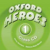 "Посібник ""Oxford Heroes 1: Class Audio CDs (2) (диск)"" Liz Driscoll, Jenny Quintana - фото обкладинки книги"