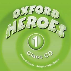 "Посібник ""Oxford Heroes 1: Class Audio CDs (2) (диск)"" Liz Driscoll, Jenny Quintana - фото книги"