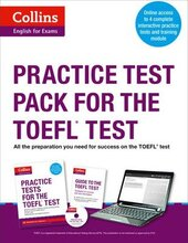 Practice Test Pack for the TOEFL Test - фото обкладинки книги