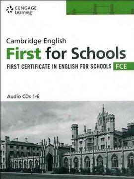 Аудіодиск Practice Tests for Cambridge FCE for Schools Audio CDs