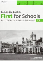 Робочий зошит Practice Tests for Cambridge FCE for Schools Student Book
