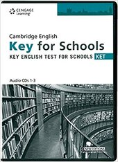 Practice Tests for Cambridge KET for Schools Audio CDs - фото обкладинки книги