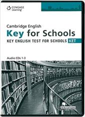 Аудіодиск Practice Tests for Cambridge KET for Schools Audio CDs