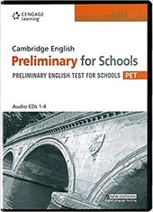 Practice Tests for Cambridge PET for Schools Audio CDs - фото обкладинки книги