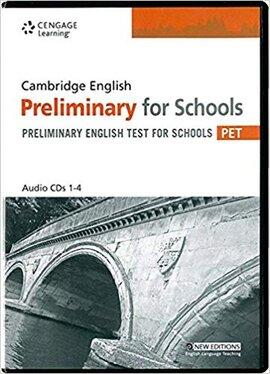 Аудіодиск Practice Tests for Cambridge PET for Schools Audio CDs