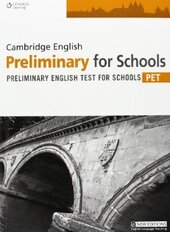 Аудіодиск Practice Tests for Cambridge PET for Schools Student Book