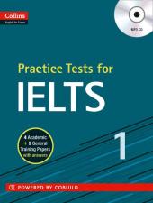Practice Tests for IELTS 1 - фото обкладинки книги
