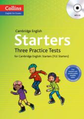 Practice Tests for Starters - фото обкладинки книги