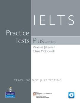 Practice Tests Plus IELTS Level 1 Student's book with key+CD (підручник+аудіодиск) - фото книги