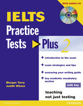 Practice Tests Plus IELTS Level 2 Student's book with key+CD (підручник+аудіодиск) - фото обкладинки книги