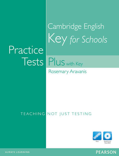 Посібник Practice Tests Plus KET for Schools with Key with Multi-ROM and Audio CD Pack