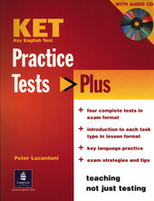 Practice Tests Plus KET Students Book and Audio CD Pack (підручник) - фото обкладинки книги