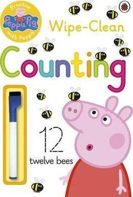 Practise with Peppa: Wipe-Clean First Counting - фото книги