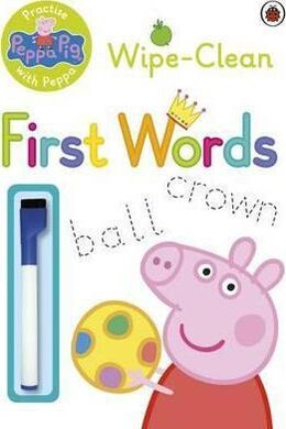 Practise with Peppa: Wipe-Clean First Words - фото книги