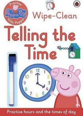 Practise with Peppa: Wipe-Clean Telling the Time - фото книги