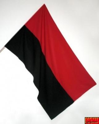 Прапор УПА поліестер
