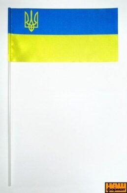 Прапорець України атласний