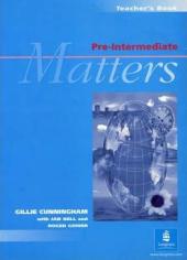 Pre-Intermediate Matters Teacher's Book - фото обкладинки книги
