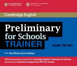 Preliminary for Schools Trainer Audio CDs (3) - фото книги