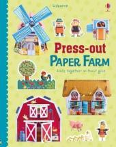 Press-Out Paper Farm - фото обкладинки книги