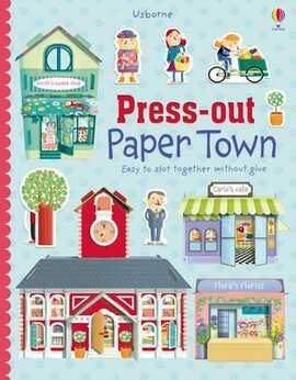 Press-out Paper Town - фото книги
