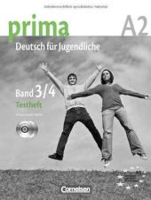 Prima-Deutsch fur Jugendliche 3/4 (A2). Testheft mit Audio CD's (тести+диск) - фото обкладинки книги