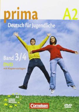 Prima-Deutsch fur Jugendliche 3/4 (A2). Video- DVD (відеодиск) - фото книги