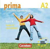 Prima-Deutsch fur Jugendliche 4 (A2). Audio CD - фото обкладинки книги