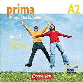 Prima-Deutsch fur Jugendliche 4 (A2). Audio CD - фото книги
