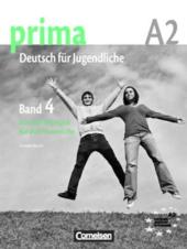 Prima-Deutsch fur Jugendliche 4 (A2). Handreichungen fur den Unterricht - фото обкладинки книги