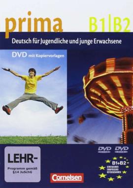 Prima-Deutsch fur Jugendliche 5/6 (B1-B2). Video- DVD (відеодиск) - фото книги