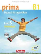 Prima-Deutsch fur Jugendliche 5 (B1). Arbeitsbuch+CD - фото обкладинки книги