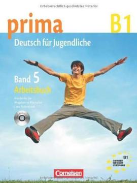 Prima-Deutsch fur Jugendliche 5 (B1). Arbeitsbuch+CD - фото книги