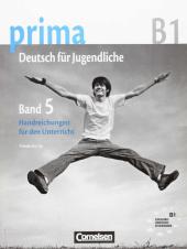 Prima-Deutsch fur Jugendliche 5 (B1). Handreichungen fur den Unterricht - фото обкладинки книги